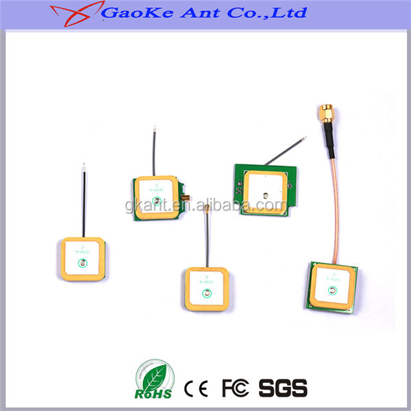 High gain factory price GPS ceramic patch antenna
