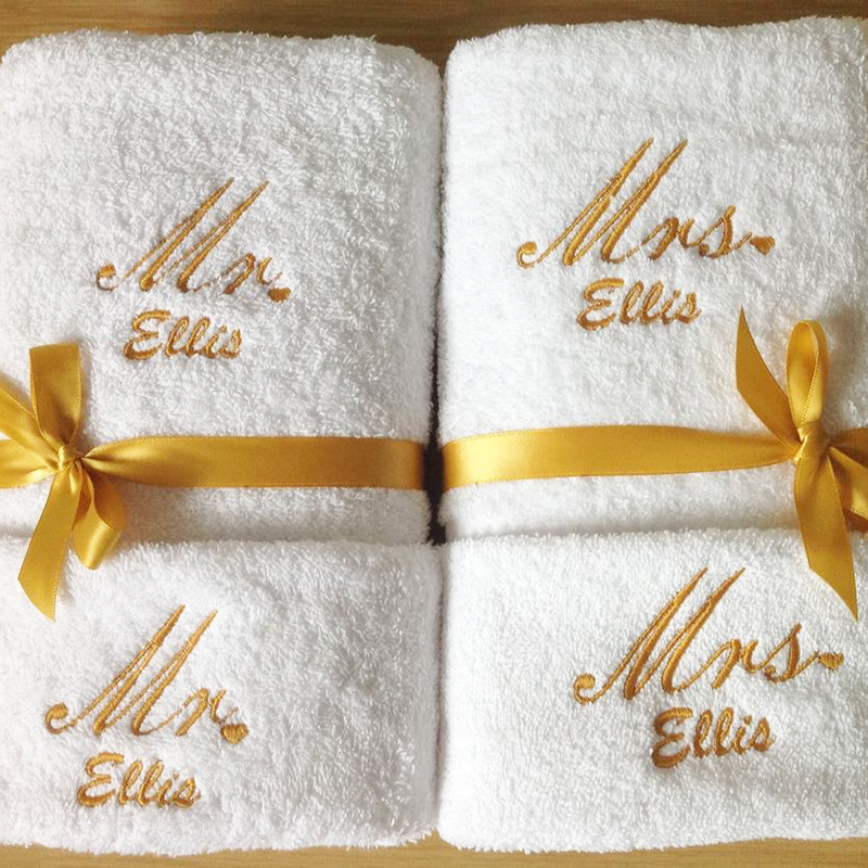 Personalized Design Standard Size Soft Guest 100% Cotton 16S Terry White 5 Star Hotel Napkin Hand Towel