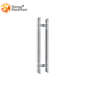 DH-002 Stainless steel Clamp lever glass door handle