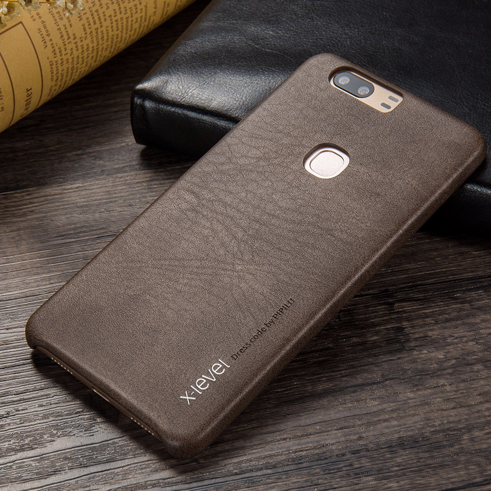 [X-Level] Vintage 2017 PU Cell Phone Case for Huawei Honor V8 Factory Price