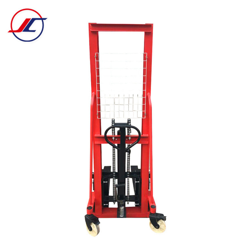 1 TON/ 2 TON Hand Stacker,Hydraulic Forklift/Trolley For ONE Year Warranty