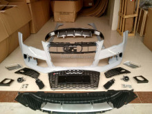 Auto facelift RS7 body kit per A7. materiale plastico. RS7 paraurti anteriore con griglia