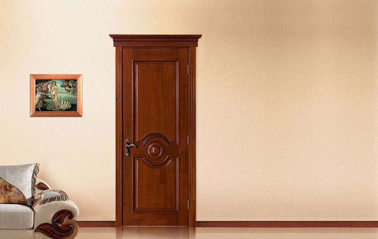 Luxury House Gate Design Single Wooden Exterior Door Used Exterior For Sale