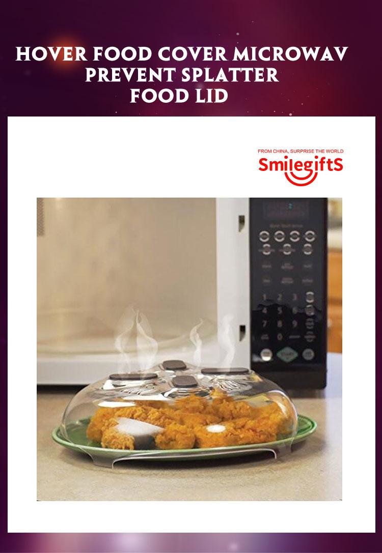 As Seen On Tv Magnetic Microwave Splatter Guard Food Anti Sputtering Lid Cover