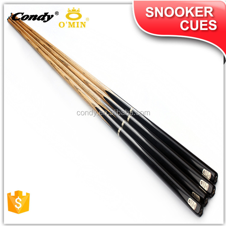 O'MIN Competitive prices 1 year manufacturer warranty hand made snooker cue
