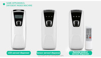 Hotel/hospital/household/KTV cordless automatic aroma dispenser electric remote control pure fragrance diffuser YK3601