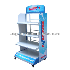 High Heavy Metal display rack, motor or water pump display stand, supermarket shelf