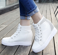 W91847A 2016 new style women shoes women height increasing shoes thick sole shoes for women