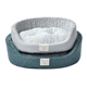 Petstar Unique Design Hot Sale Round Waterproof Pet Bed Plush Soft Pet Dog Bed