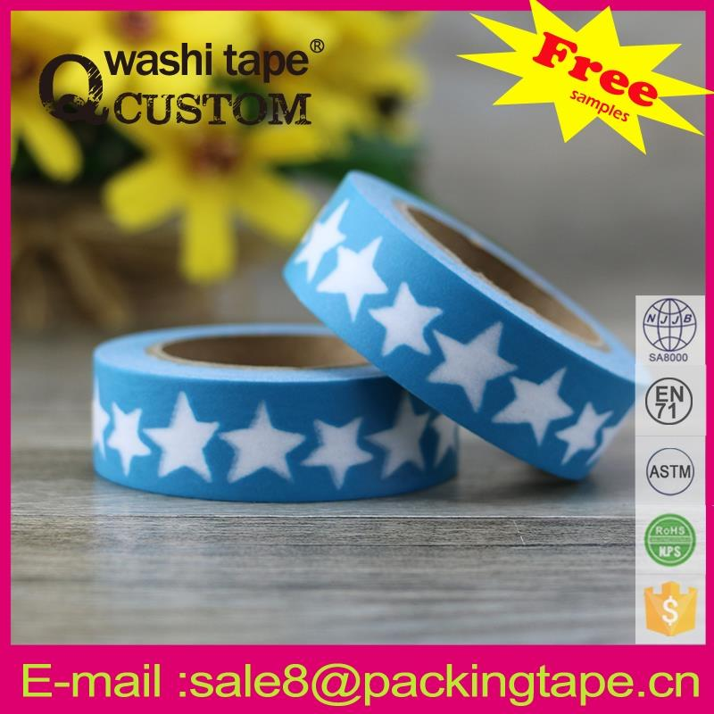 China supply wall sticker tape for Birthday card mask adhesive