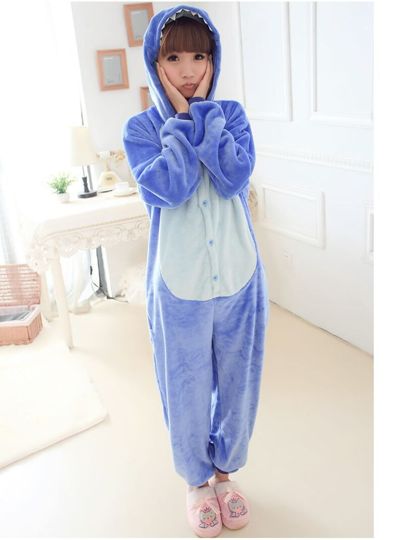 Get Quotations · Unisex Adult Flannel Anime Pajamas for Women Cartoon Cosplay  Pajama Onesie Sleepwear Pijama Feminino Cute Onesies 33a95eeed