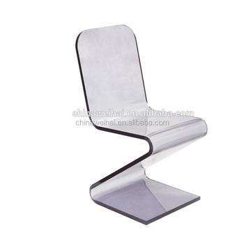 Acrylique Salle Manger Chaise Transparente