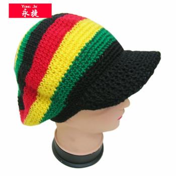 China Wholesale High Quality Rasta Beanie Tam Hat