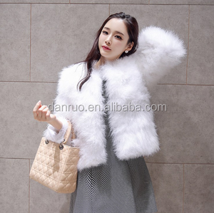 4f4b58be60b Ostrich Feather Jacket, Ostrich Feather Jacket Suppliers and Manufacturers  at Alibaba.com