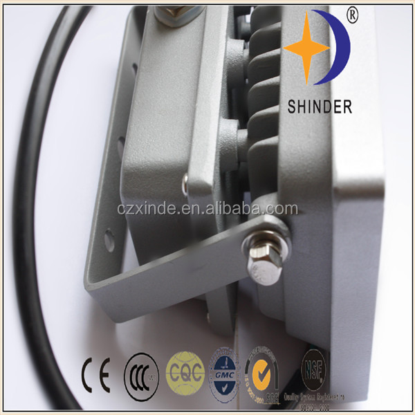 lower power high lumen ip 65 led flood light with cob chip 30w factory directly sale for Shinder Lighting