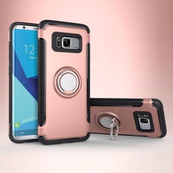 2017 Accesorios para celulares mobile phone case ring cover armor case new mobile for samsung S8 case