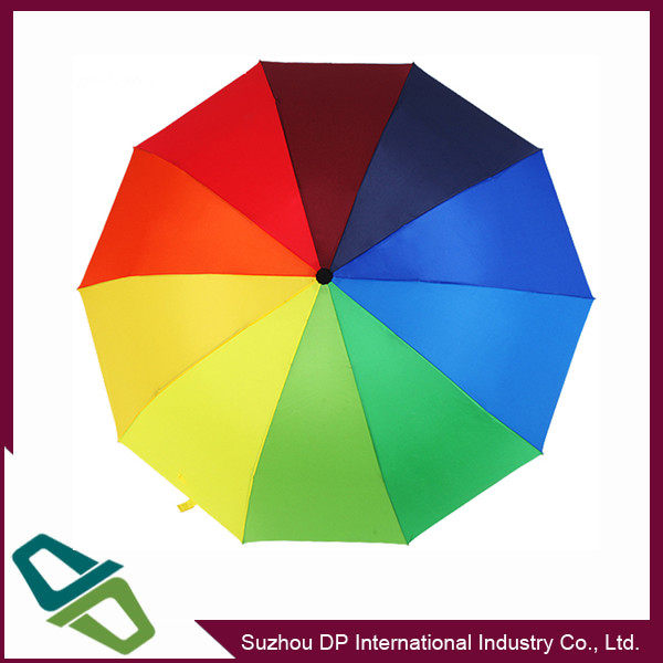 "68"" Double rainbow Canopy outdoor Golf Umbrella"