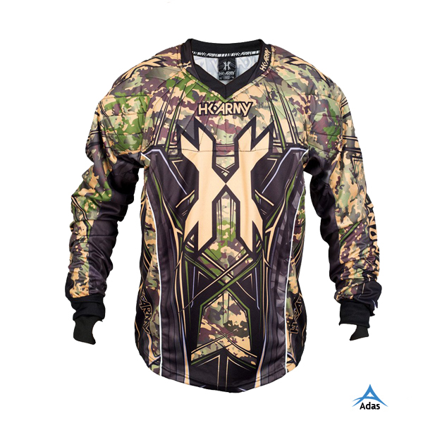 Custom allover printing paintball jersey, sublimation paintball jersey