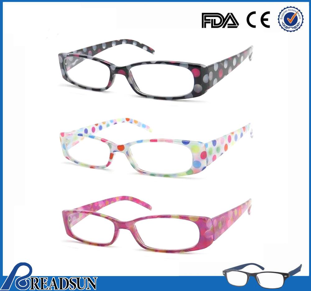Patrón de moda de plástico gafas de lectura/gafas de ...