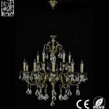New arrival luxury antique brass living room chandeliers