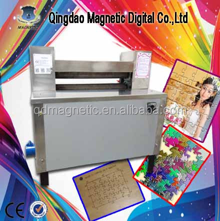 High speed easy operation puzzle press machine/hot sale jigsaw 500 pcs puzzle machine
