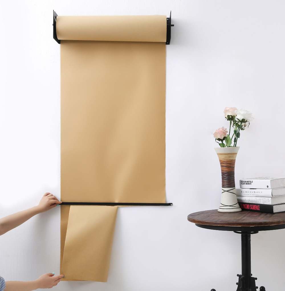 Wall Mounted Paper Roll Holder Kraft Paper Dispenser Buy