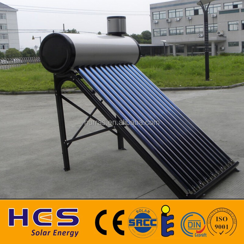 Best selling high quality non pressurized vacuum tube solar water heater