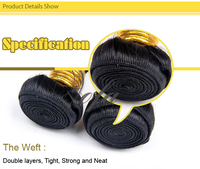 Afro Hair Bun Hair For Wig Making Quick Weave Human Hair - Buy ...