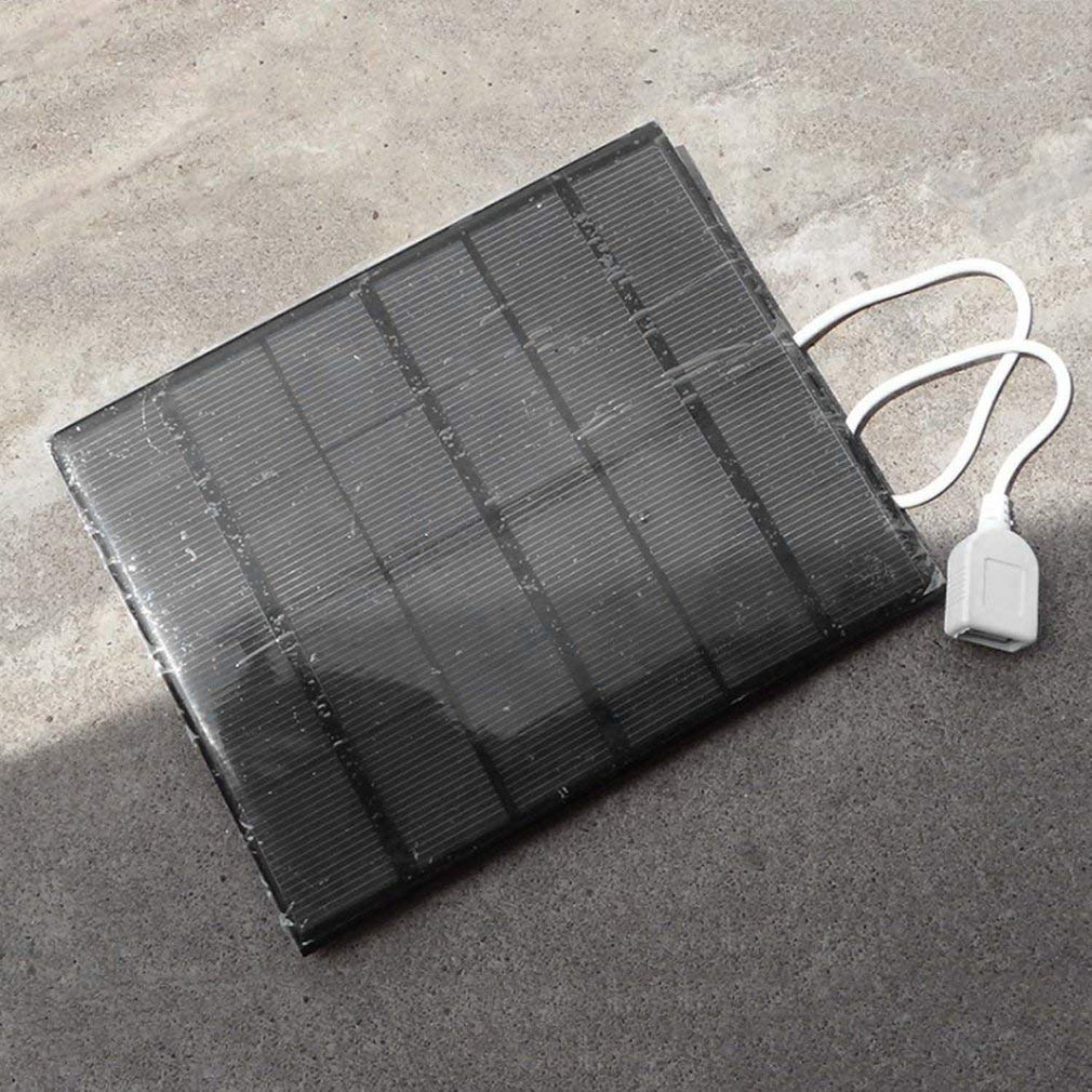 3.5W 6V, USB Solar Panel Power Bank, External Battery Charger, Outdoor Travelling Charger, For Mobile Phone Tablet 3.5W Solar Panel Power Bank External Battery Charger For Mobile Phone Tablet
