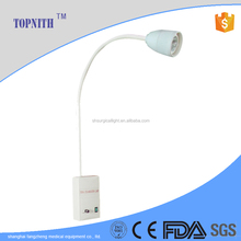 medical equipment china wall mounted cold halogen light examination lamp