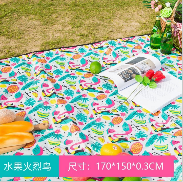 Machine Washable Waterproof Outdoor Oxford Folding Picnic Mat Blanket