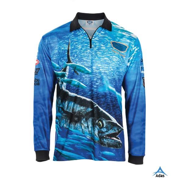 Custom sublimation fishing shirt long sleeve fishing for Custom saltwater fishing shirts