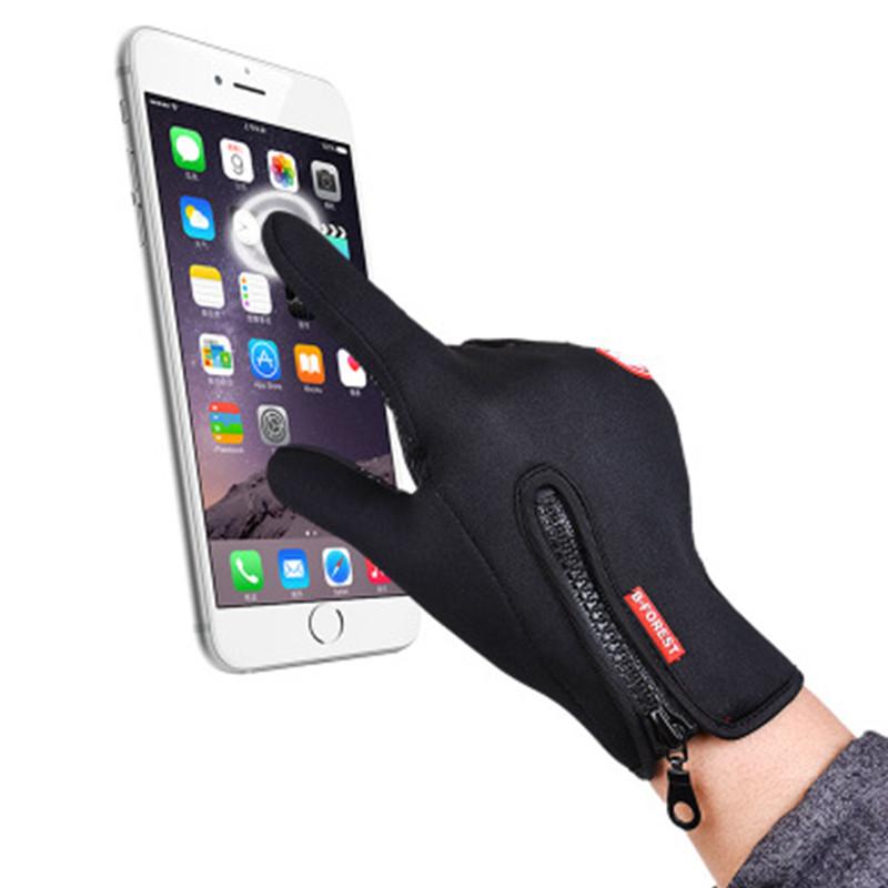 2020 Nieuwe Stijl Mannen En Vrouwen Sport Warm Winter Running Fiets Custom Smart Touch Screen Handschoenen