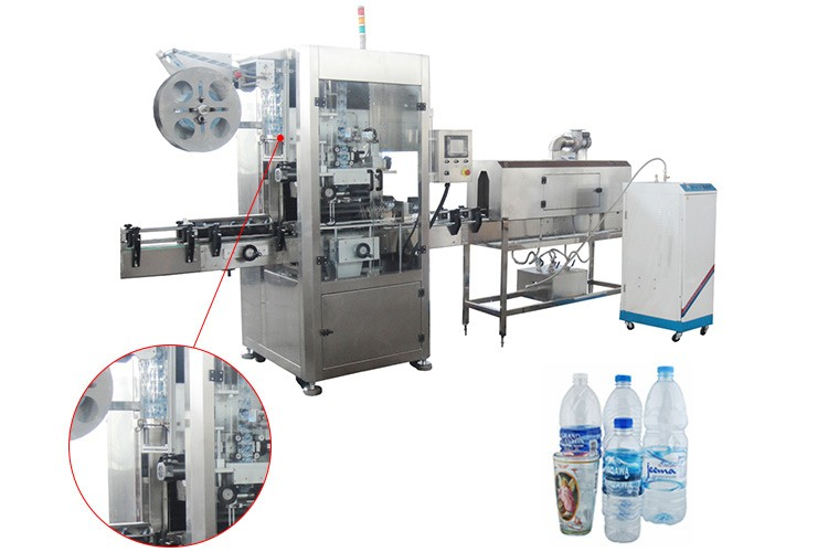 Adopts PLC power 48KW curved bottle label printing machines