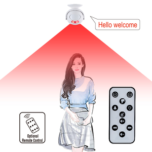 4in1 Multi-functions PIR Motion Sensor Curtain Detection Smart Wireless Doorbell
