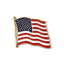 Hign Qualität Nationalen Regierung <span class=keywords><strong>USA</strong></span> Flagge Messing Weiche Emaille <span class=keywords><strong>Revers</strong></span> Pin