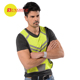 custom racing high visibility sport reflective vest zipper