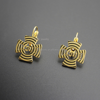 SSS110052-E 2015 Fashion Stainless Steel Gold Unique Designs Cheap Stud Earrings LOVE Jewelry
