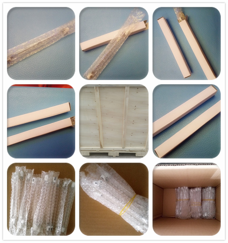 Electric heating element and tube