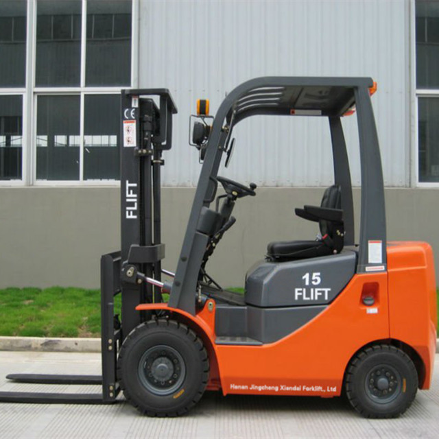 famous brand diesel engine small model 1.5 ton forklift truck for sell
