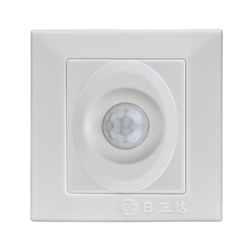 Wall Plate Infrared Pir Motion Sensor Outdoor Light Switch Mount Indoor