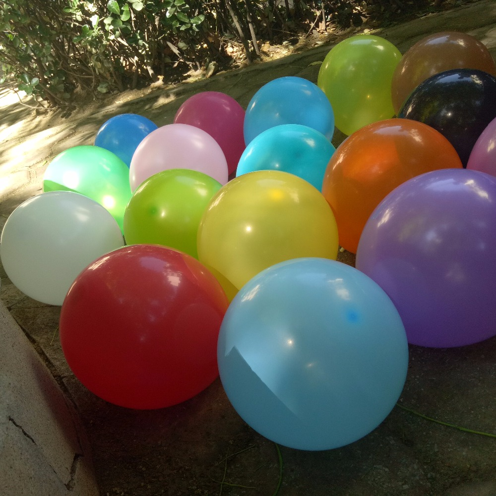 "1.5g small round globos latex 9"" pastel party balloon"