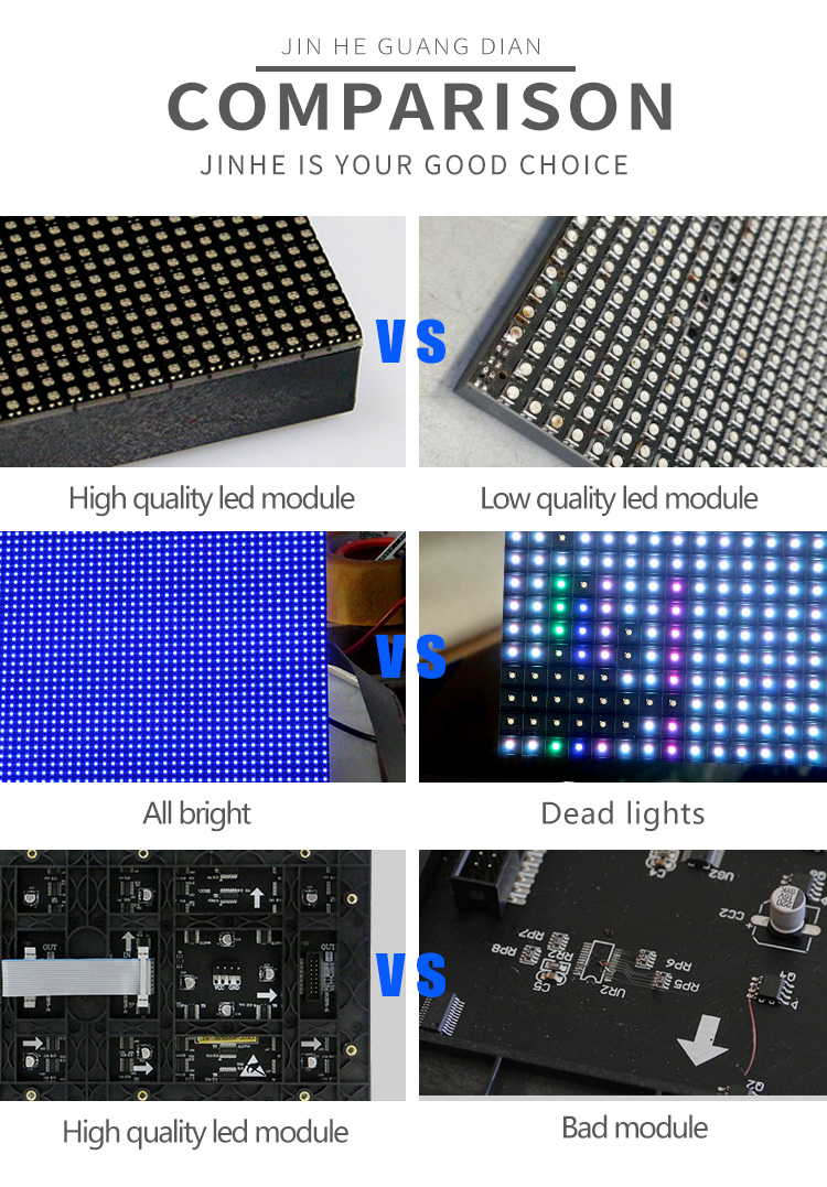 P3.91 Outdoor SMD Led Display Screen Module Panel for Video
