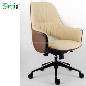 pu leather medium back luxury executive leather office chair