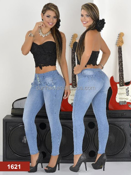fce3a3957 New Style Jeans Colombian Butt Lift Jeans Wholesale Jeans - Buy ...