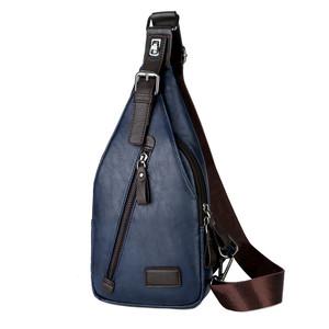 2019 VICUNA POLO Brand Logo Custom China Suppliers Fashion Crossbody Bag  Wholesale Soft Leather Men Bag c3b74b07a8833