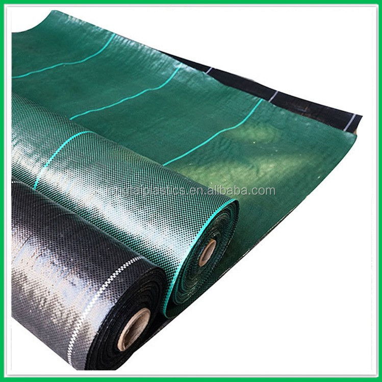China weed mat factory supply cheap price weed barrier ground cover for agriculture weed control
