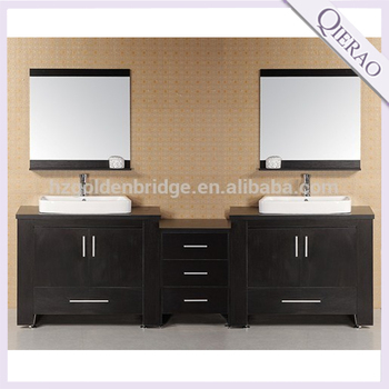 Qierao Gb 9062 Spanish Used Transitional Imported Bathroom Vanity Cabinets