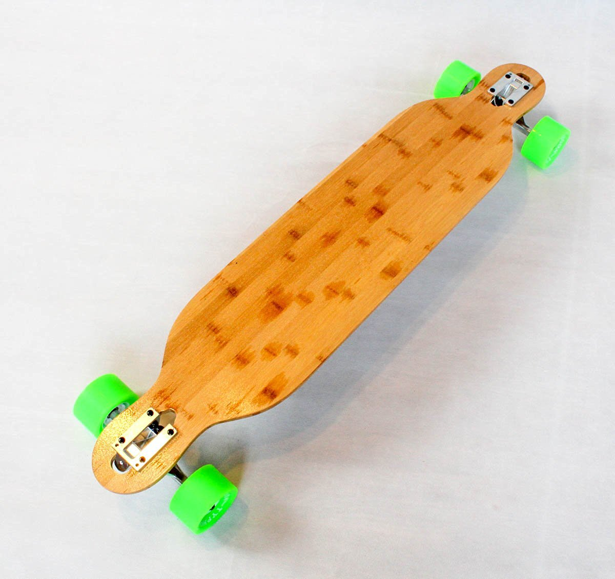 Bamboo Longboard Drop Through Skateboard Flexible Cruiser V_lam DTB Board