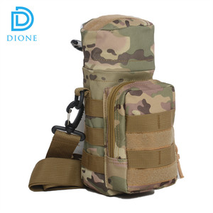600D Waterproof Army Military First Aid Kit Molle Military Water Bottle  Pouch
